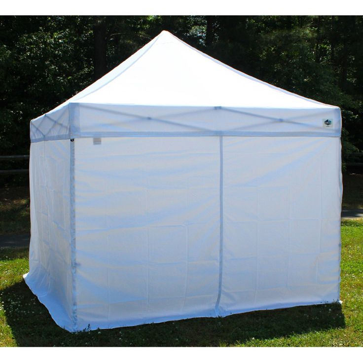 E Z Up Express Ii Sidewalls For 10x10 Canopy By E Z Up 86 99 Flame Resistant Material Meets Cpai 84 250d Polyester Fabric E Z Up Express Ii Sidewalls Zi