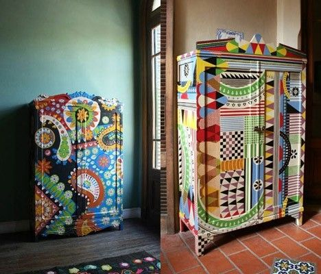 Painted wardrobes by rhonda