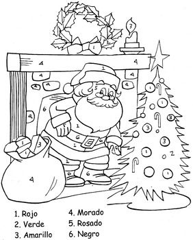 This exciting picture can help your Elementary students have a fun time coloring by number while learning colors in Spanish. Great Crosscurricular activity for  Kindergarden through 6th grades.  Kids can recognize colors in Spanish while learning colors.