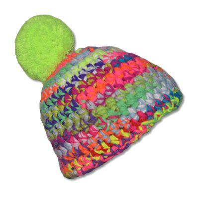BigEasy Konfetti Mützen Häkelmütze häkeln DIY Mode Mütze Beanie Handarbeit Mütze häkeln Textil Mode Mode für