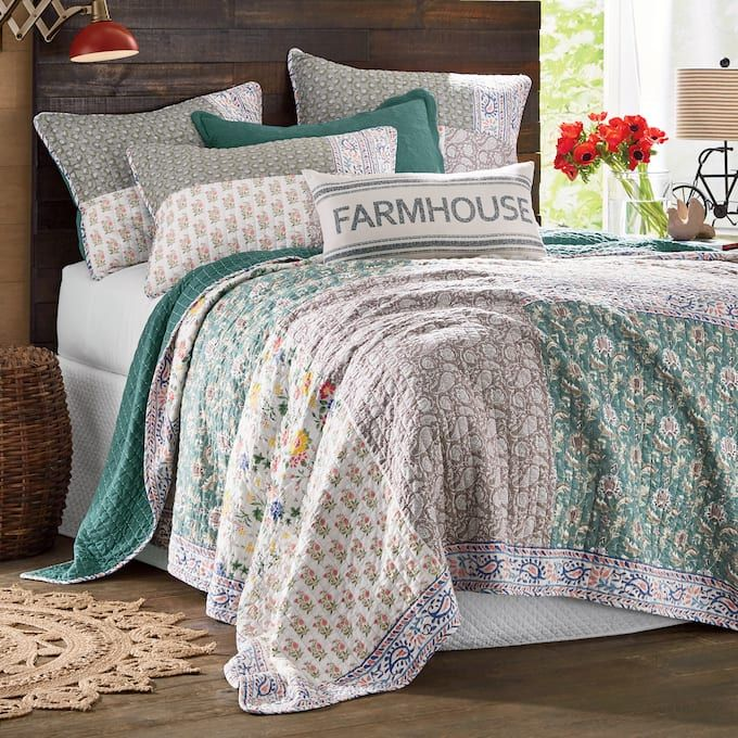 Leah Oversized Quilt And Sham From Country Door In 2020 Oversized Quilt Country Door Quilts