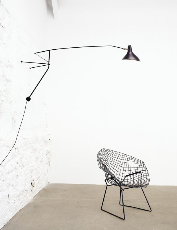 Bernard Schottlander for Lampe Gras| MANTIS line - BS 2 - Wall lamp