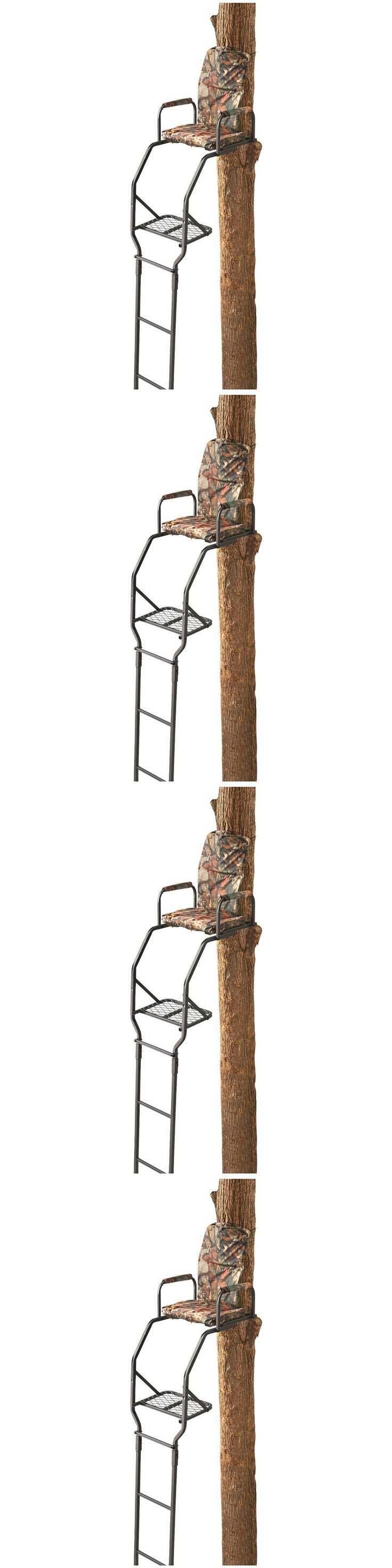 Tree Stands 52508: Ladder Tree Stand 16 Hunting Big Game Deer Shooting Steel Seat Harness Included -> BUY IT NOW ONLY: $102.69 on eBay!