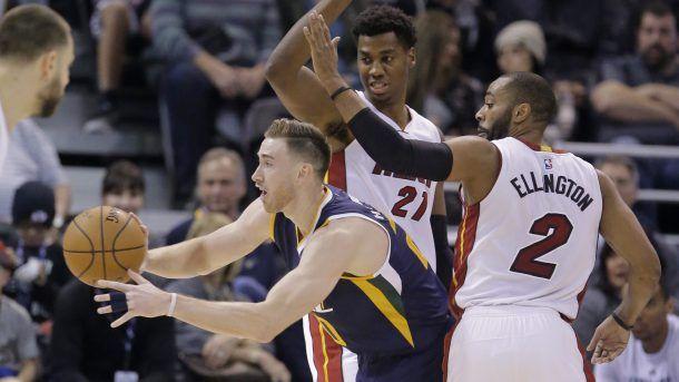 #NBA    Rumor: Gordon Hayward, if he leaves Jazz, could join Heat | ProBasketballTalk