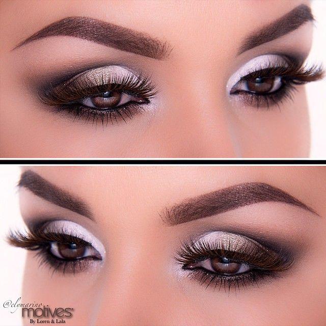Smokey Eye Makeup For Deep Set Eyes Cartoonview