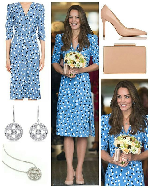 """◇ 17 Sep 2016 ◇ □ Outfit info □  the Duke and Duchess of Cambridge went back to school atStewards Academyin Harlow, Essex as part of their 'Heads Together' campaign. Kensington Palace noted today's visit would allow William and Kate an opportunity """"to find out more about the pressures faced by young people when they are going through big changes in their lives, and learn about the support from peers and parents that can help them get through these changes. Big changes can affect people's…"""