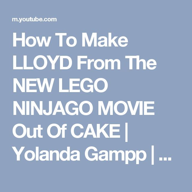 how to make a lego cake out of lego
