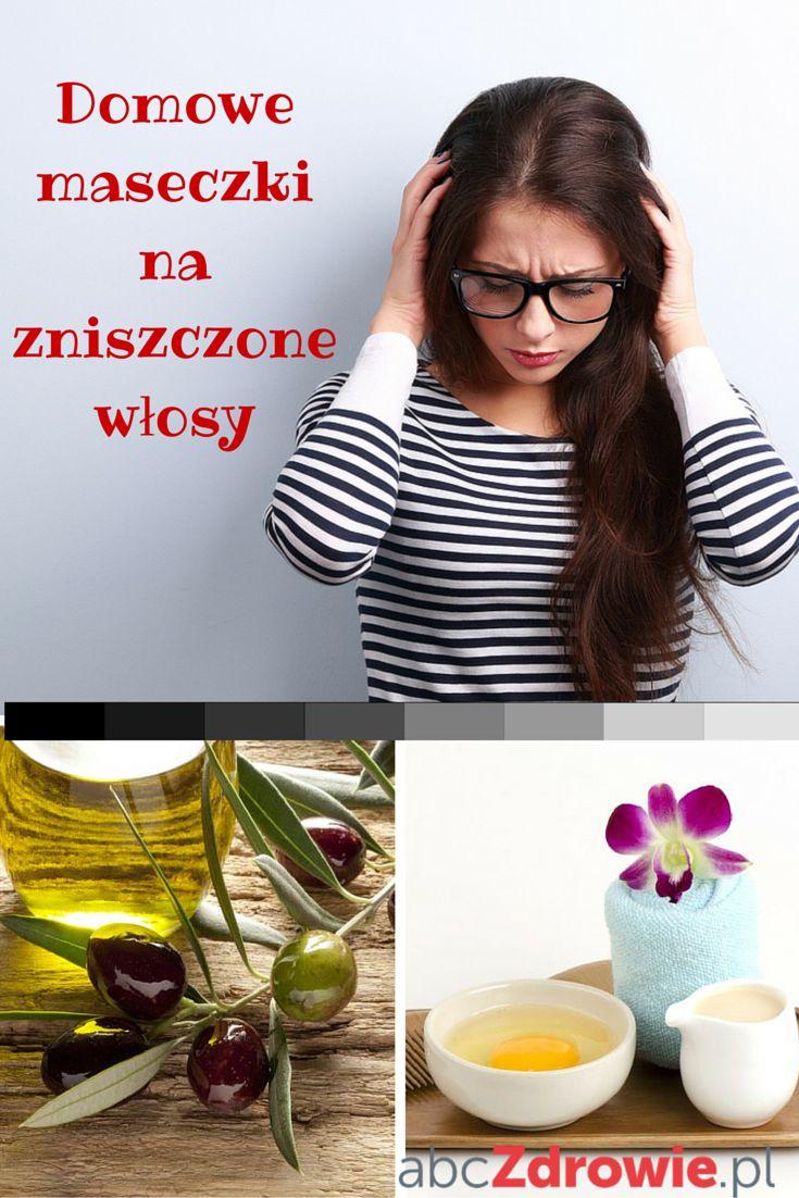 Domowe maseczki na włosy to skuteczny i tani sposób na zdrowe włosy, pełne blasku i gładkości. Jeśli włosy przetłuszczają się, wypadają lub są suche, nie musisz wydawać fortuny na profesjonalne kosmetyki lub zabiegi. Możesz wykonać domową maseczkę na włosy z produktów, które masz w kuchni.  #włosy #zdrowewłosy #maski #maseczki #pięknewłosy #hair #mask #conditioner #beauty #abcZdrowie