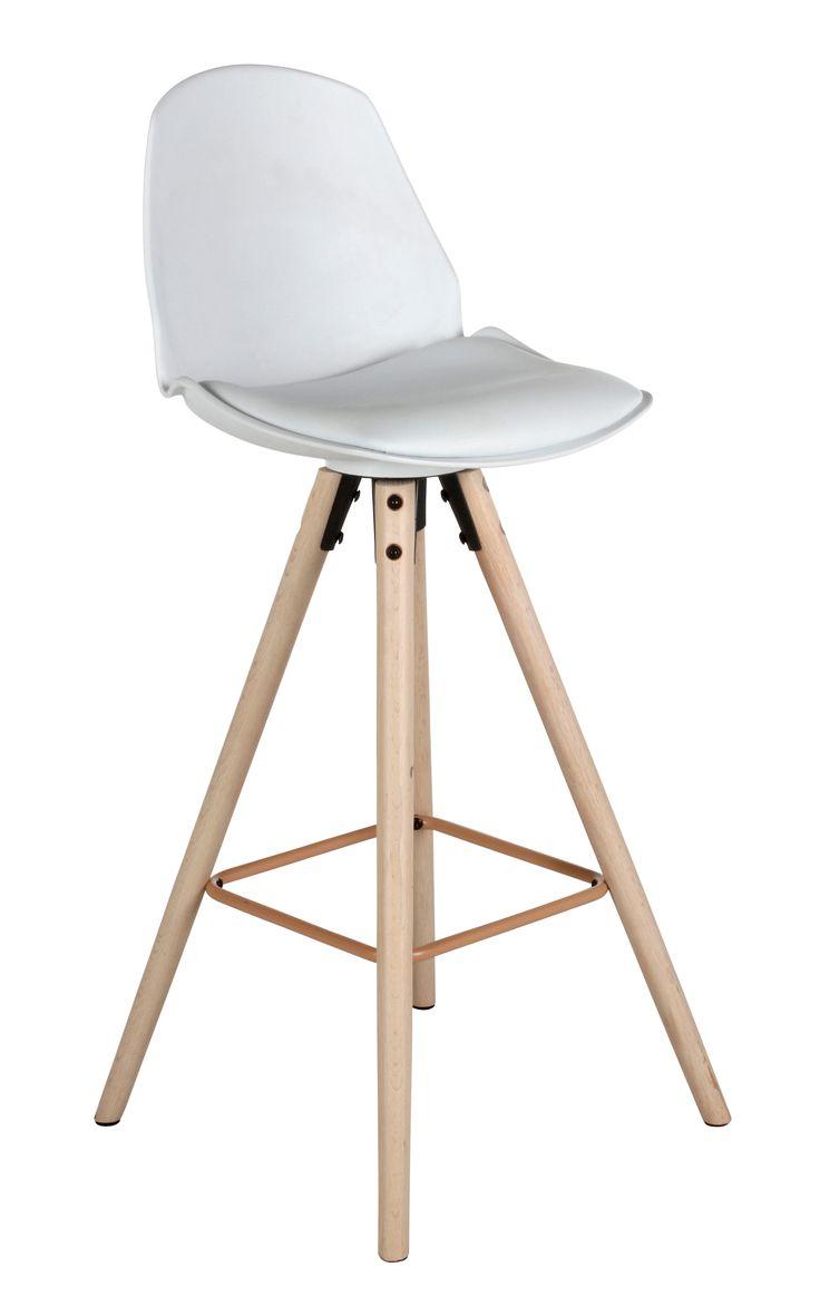 affordable tabouret de bar h cm oslo blanc with tabourets de bar but. Black Bedroom Furniture Sets. Home Design Ideas
