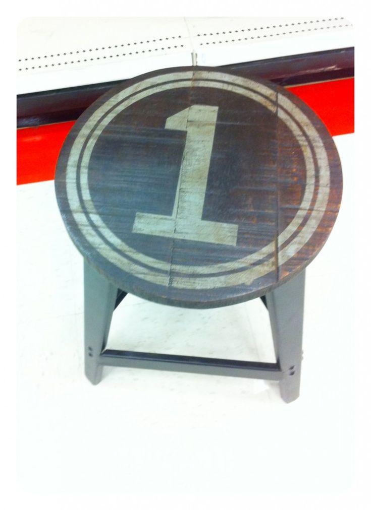 Vintage Industrial DIY Bar Stools | Stools, Bar stool and ...