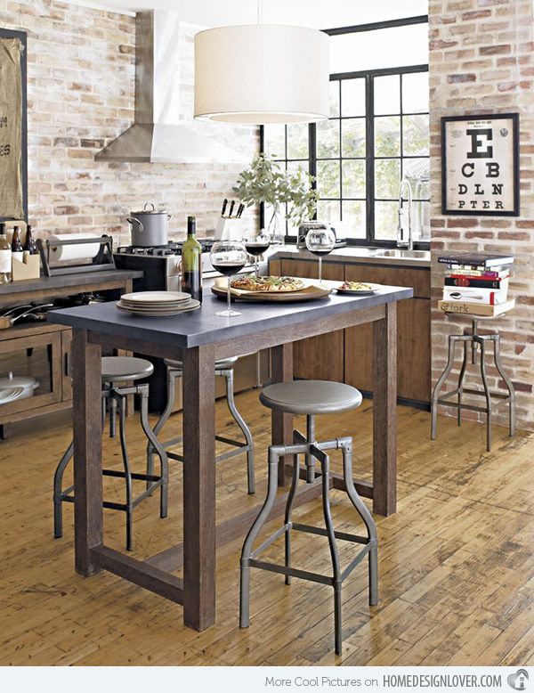 15 Small Modern Kitchen Tables