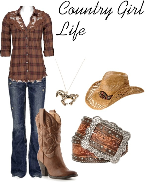 """""""Country Girl"""" by sortarican829 on Polyvore"""