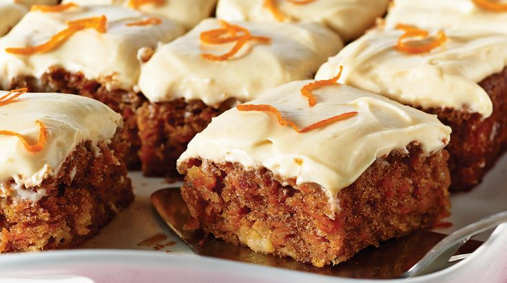 Carrot Cake with Maple Cream Cheese Icing