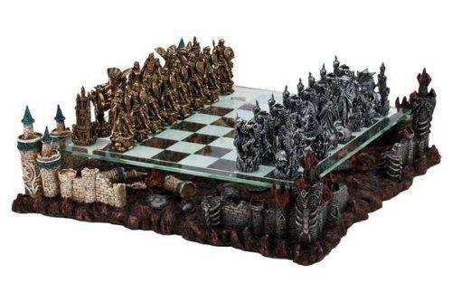 conjunto de xadrez de dragões - Geekpride.com.br