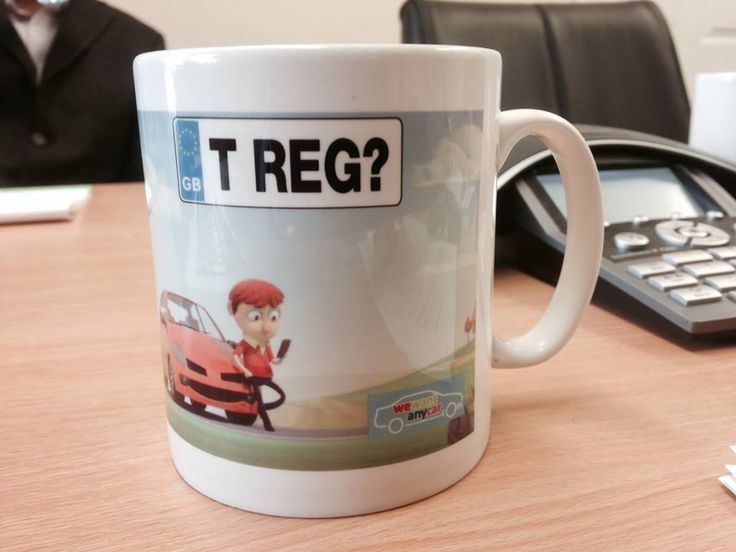 That Reg gets around...Check out our mugs! www.wewantanycar.com
