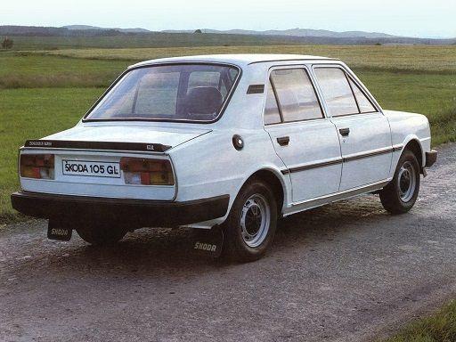 Skoda 105 GL (1981 – 1983).