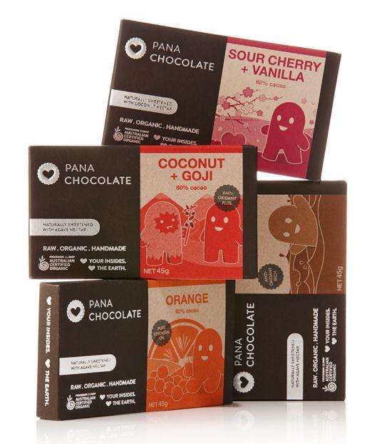 PANA Käsintehdyt suklaat
