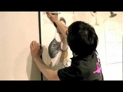 "Yoichi Takahashi in mf ""LIVE PAINTING"" - YouTube"
