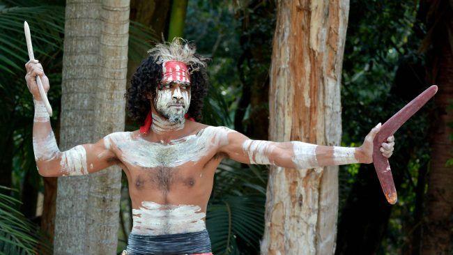aborigen australiano Yugambeh