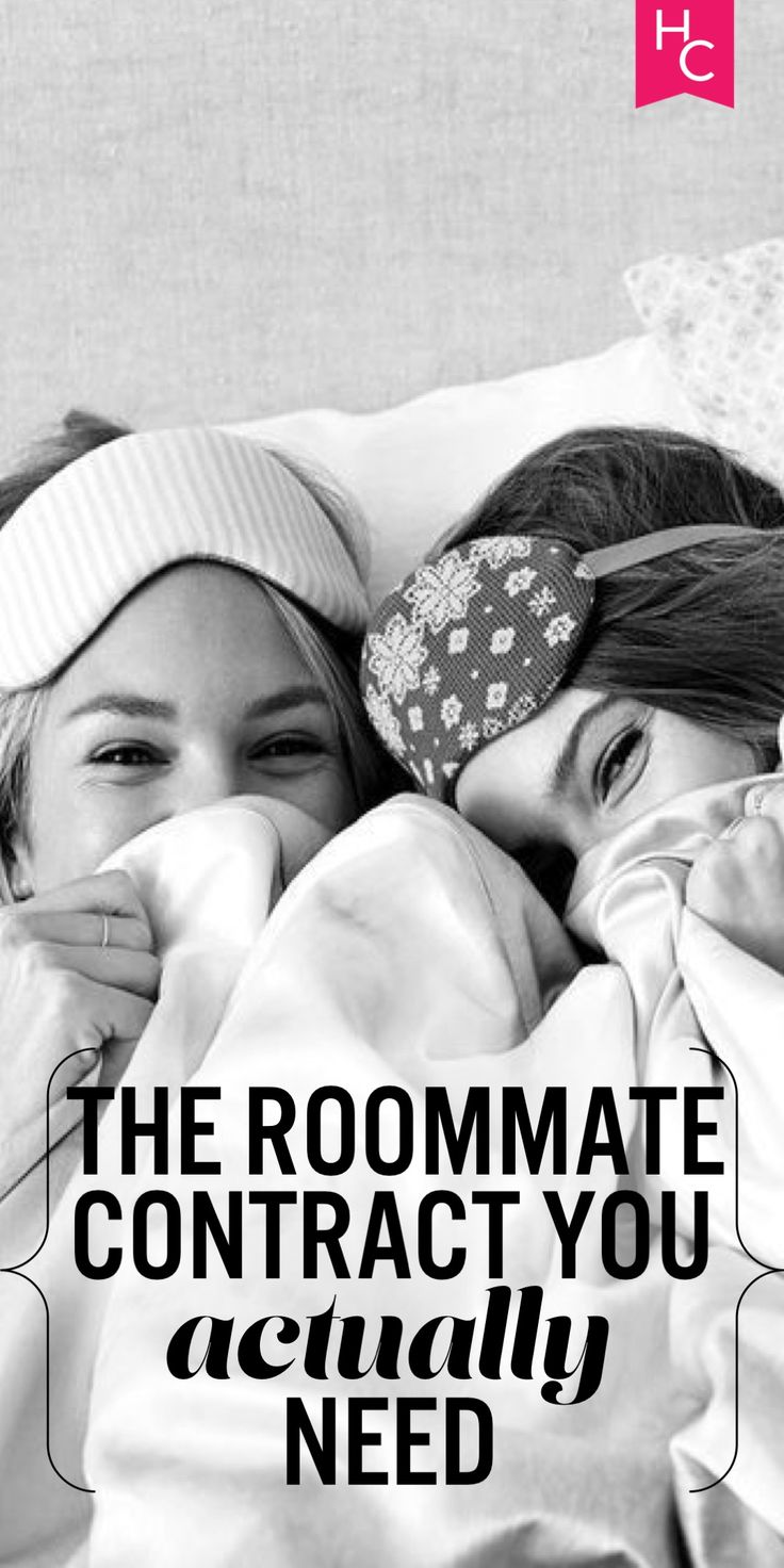 The Roommate Contract You ACTUALLY Need | Her Campus | http://www.hercampus.com/life/campus-life/roommate-contract-you-actually-need