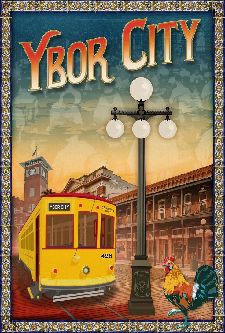 Ybor City is the historic Latin quarter of Tampa