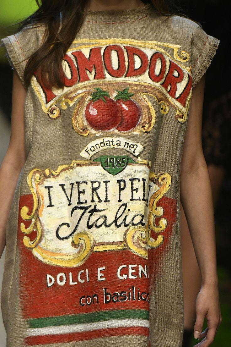 Italian vibes in Dolce&Gabbana Catwalks.