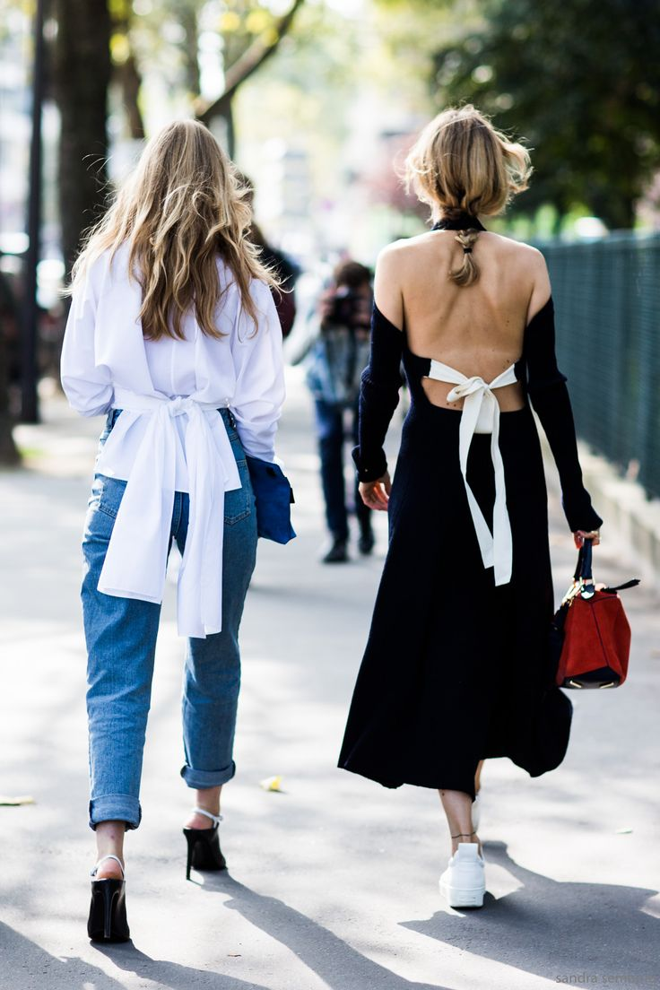 tie-back details // street style