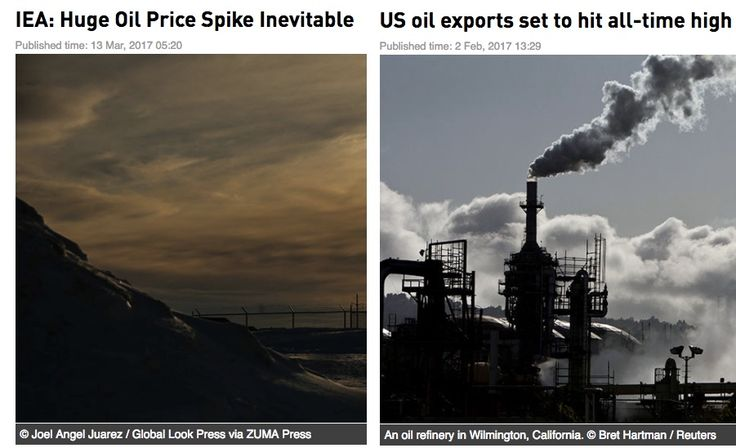 I want to make the point that trading by headlines is the wrong way to go because these two headlines although a month apart implies that price direction of crude oil are totally opposite and therefore contradictory. In fact if one looks at the content in the left piece, the headline could be alot better because it is looking at 'in a few years'.    The best way to trade is to look at the charts and believe the charts.