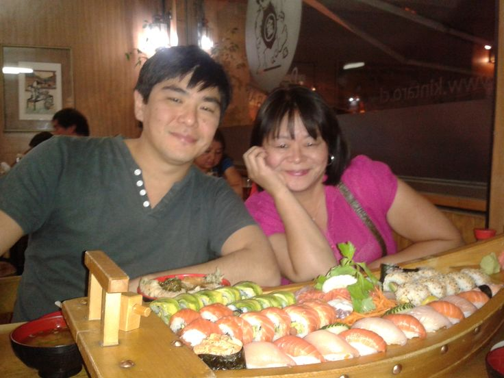 real japanesse.... sushi ...