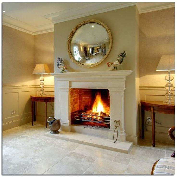 20+ Classy Fireplace Design Ideas   Georgian interiors ...