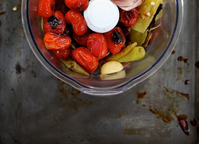 roasted tomato and hatch chile salsa by joy the baker