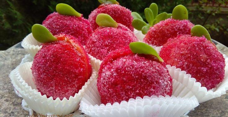 Finte pesche dolci profumate all'archemes | Dolci Passioni
