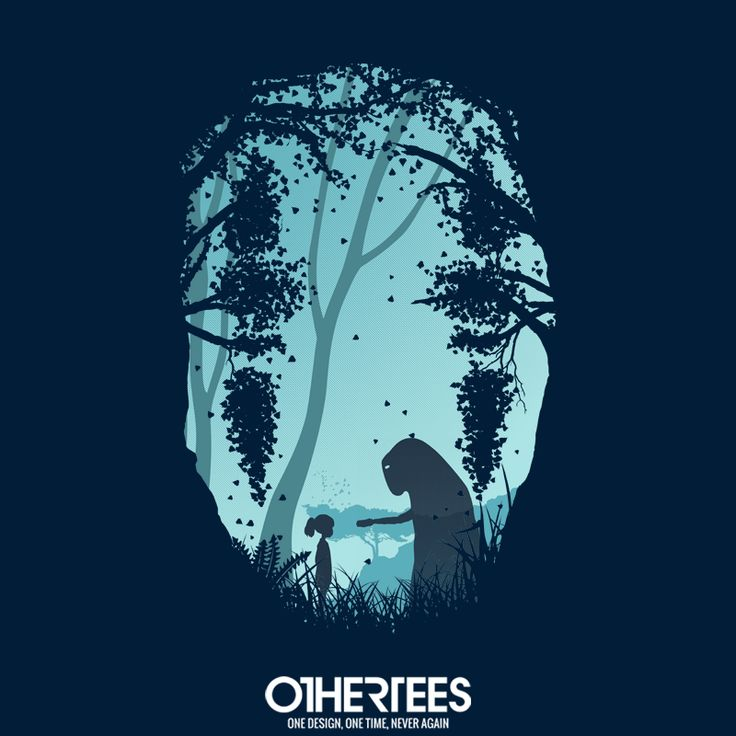 """Lonely Spirit"" by filiskun T-shirts, Tank Tops, Sweatshirts and Hoodies are on sale until December 8th at www.OtherTees.com Pin it for a chance at a FREE TEE #Ghibli #StudioGhibli #HayaoMiyazaki #Miyazaki #SpiritedAway #NoFace #Kaonashi #OtherTees"