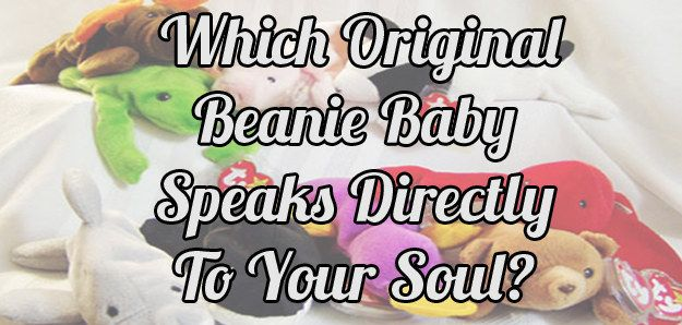 Which Original Beanie Baby Speaks Directly To Your Soul?