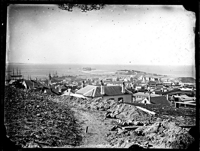 Newcastle East, [from Obelisk, 1885], via Flickr.