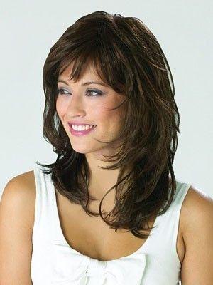 Wavy Short Synthetic Capless Wig My Hair Pinterest