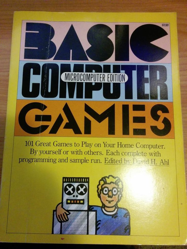 7 best programming images on pinterest coding computer vintage 1978 basic computer games microcomputer edition david h ahl fandeluxe Images
