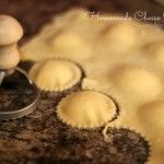 Homemade Ravioli dough with semolina flour