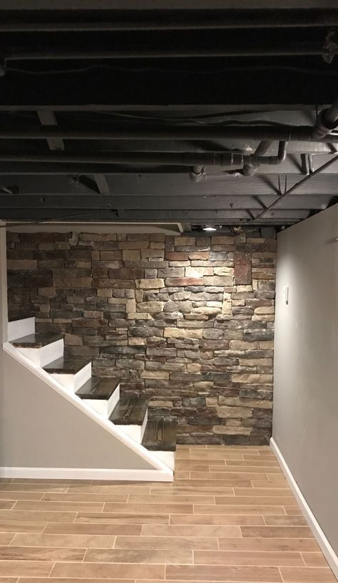 17+ Amazing Unfinished Basement Ideas You Should Try | Basement | Pinterest  | Basement, Basement Remodeling And Home