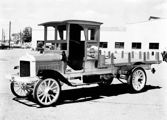 1915 GMC Flatbed Truck