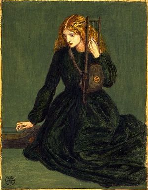 The Harp Player (1857) D G Rossetti
