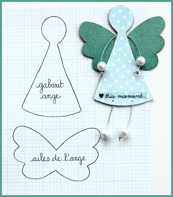 angel- put students faces on these - add hair-Christmas wrapping paper or scrapbook paper for body- angel wings with glitterr outlined