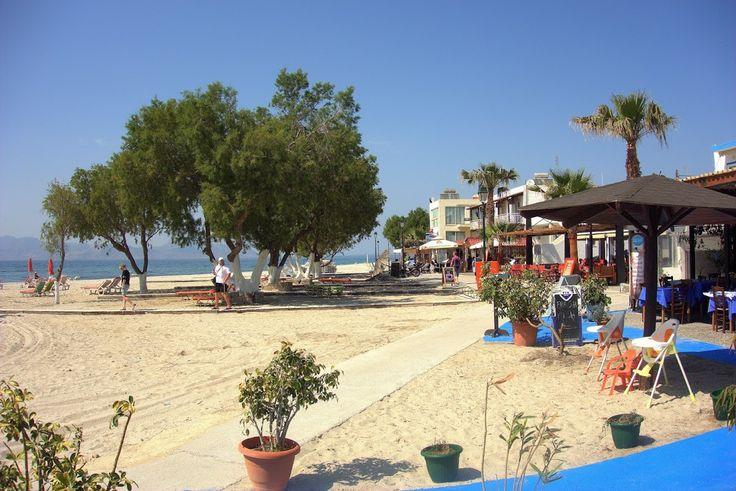 Mastichari Beachi, Hier gibt es sehr nette Tavernen, direkt am Strand gelegen. #Kos #Insel #Griechenland #greece #island #Dodekanes #InselKos #KosIsland #Mastichari