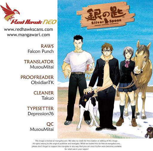 Silver Spoon chapter 98