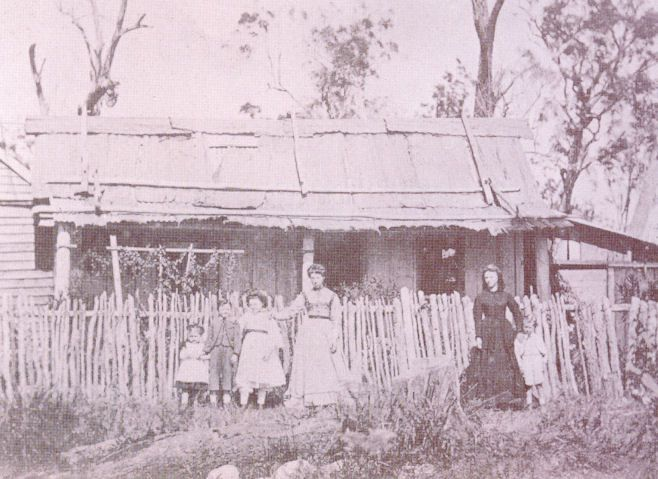 Settler's home built in 1861 four kilometres inland from Surfers Paradise, Gold Coast, Australia