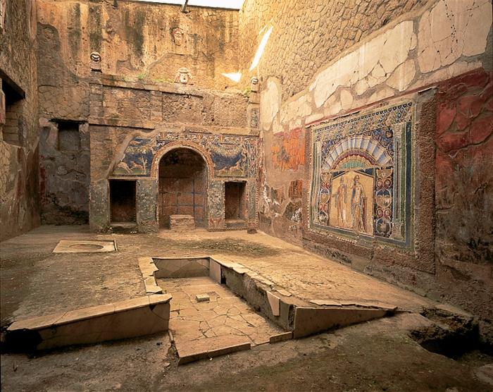 *HERCULANEUM, ITALY ~ Ercolano-Casa di Nettuno e Anfitrite