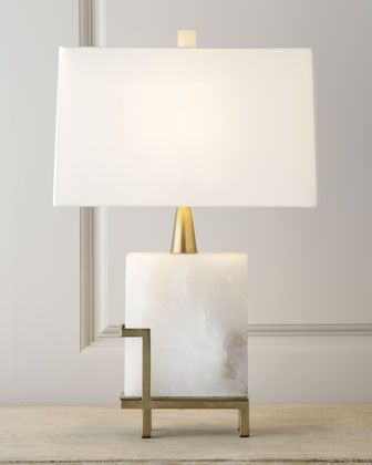 """""""Herst"""" Lamp by Arteriors - sculptural and chic table lamp"""