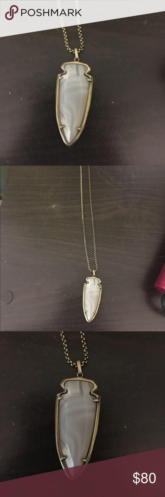 Kendra Scott Necklace Grey/White marble necklace Kendra Scott Jewelry Necklaces
