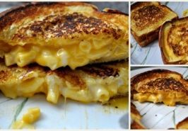 : Grilledcheese, Mac Cheese, Recipe, Cheese Grilled, Cheese Sandwich, Food Drink, Gourmet Grilled Cheese, Grilled Cheeses, Grilled Mac
