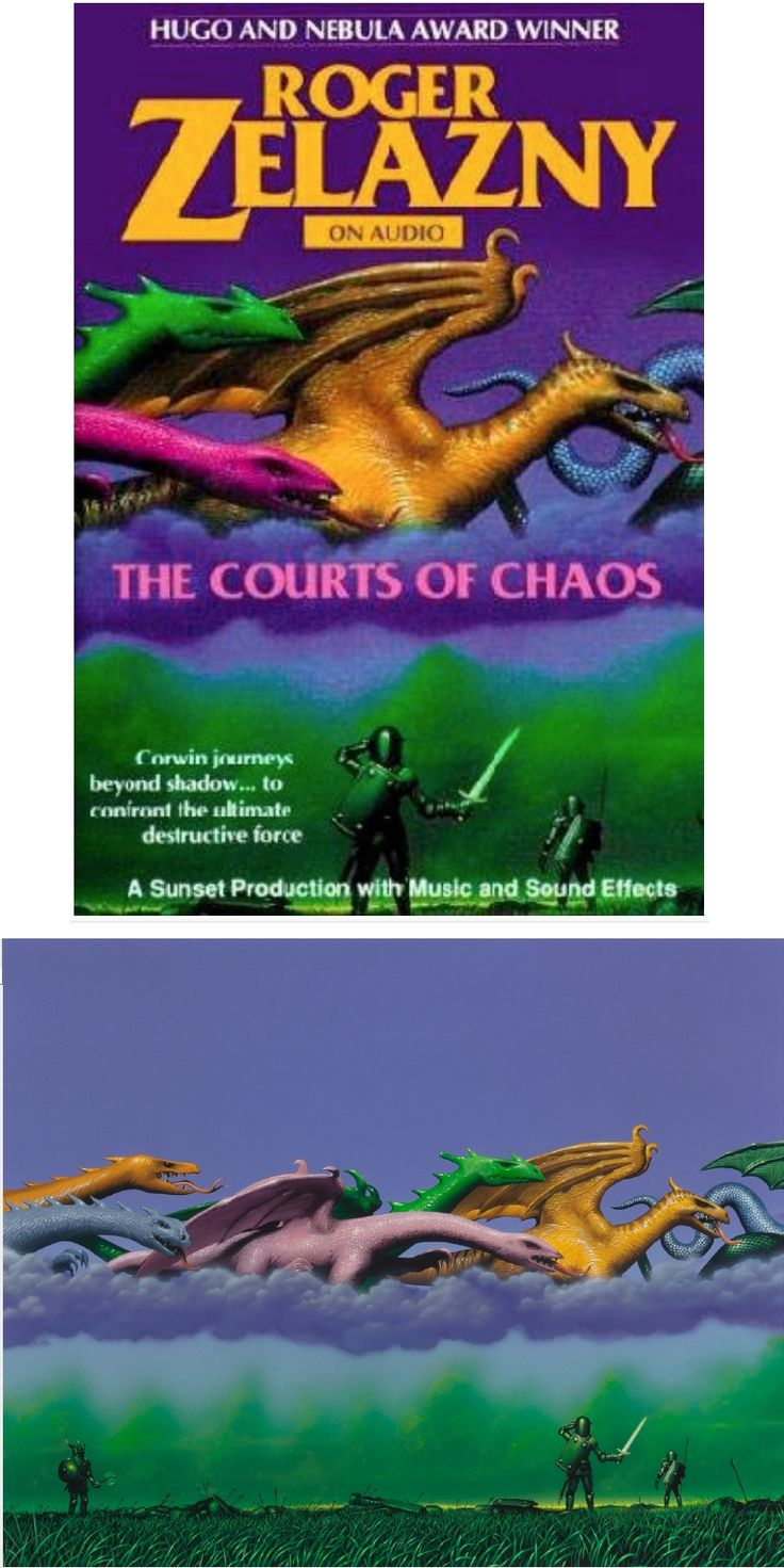 TIM WHITE - The Courts of Chaos (The Chronicles of Amber series) by Roger Zelazny - 1986 Avon Books - items by fineart.ha